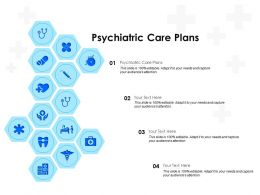 Psychiatric Care Plans Ppt Powerpoint Presentation Gallery Deck