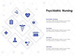 Psychiatric Nursing Ppt Powerpoint Presentation Ideas Grid