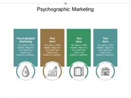 Psychographic Marketing Ppt Powerpoint Presentation Inspiration Microsoft Cpb