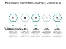Psychographic Segmentation Advantages Disadvantages Ppt Powerpoint Presentation Infographics Cpb