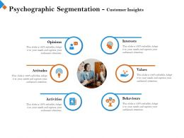 Psychographic Segmentation Customer Insights Your Needs Ppt Powerpoint Presentation Styles Icons