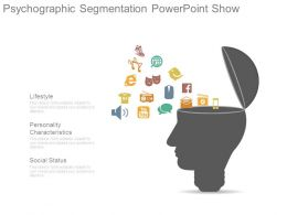 Psychographic Segmentation Powerpoint Show
