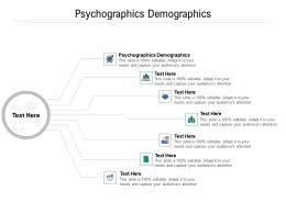 Psychographics Demographics Ppt Powerpoint Presentation Show Example File Cpb