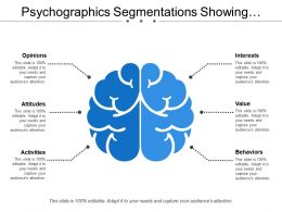 Psychographics Segmentations Showing Opinions Interest