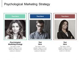 Psychological Marketing Strategy Ppt Powerpoint Presentation Gallery Design Templates Cpb