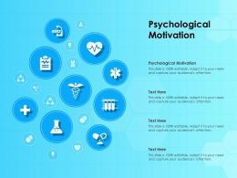 Psychological Motivation Ppt Powerpoint Presentation Icon Portrait