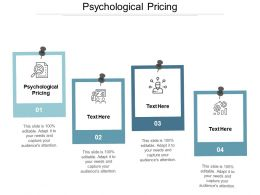 Psychological Pricing Ppt Powerpoint Presentation Ideas Examples Cpb