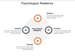 Psychological Resilience Ppt Powerpoint Presentation Slides Icon Cpb