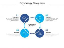 Psychology Disciplines Ppt Powerpoint Presentation Slides Demonstration Cpb
