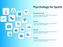 Psychology For Sports Ppt Powerpoint Presentation Outline Portfolio