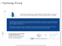 Psychology Pricing Ppt Powerpoint Presentation Summary Pictures