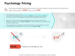 Psychology Pricing Ppt Powerpoint Presentation Visual Aids Styles