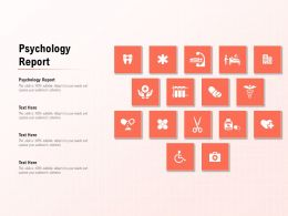 Psychology Report Ppt Powerpoint Presentation Example 2015