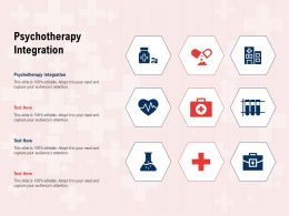 Psychotherapy Integration Ppt Powerpoint Presentation Inspiration Background