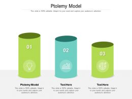 Ptolemy Model Ppt Powerpoint Presentation Show Visuals Cpb