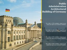 Public Administration Architectural Building Of Germany