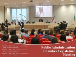 Public Administration Chamber Legislature Meeting