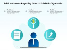 Public Awareness Regarding Financial Policies In Organization