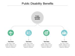 Public Disability Benefits Ppt Powerpoint Presentation Pictures Cpb