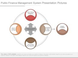 Public Finance Management System Presentation Pictures