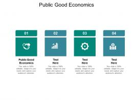 Public Good Economics Ppt Powerpoint Presentation Infographics Example File Cpb