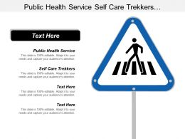 Public Health Service Self Care Trekkers Architectures Domains Cpb