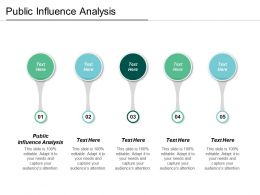 Public Influence Analysis Ppt Powerpoint Presentation Gallery Designs Download Cpb