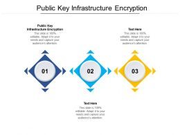 Public Key Infrastructure Encryption Ppt Powerpoint Presentation Infographic Template Slideshow Cpb