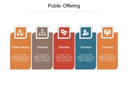 Public Offering Ppt Powerpoint Presentation Show Slides Cpb