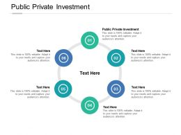 Public Private Investment Ppt Powerpoint Presentation Layouts Graphics Cpb