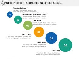 Public Relation Economic Business Case Operation Reference Model Cpb