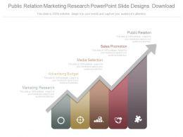 Public Relation Marketing Research Powerpoint Slide Designs Download