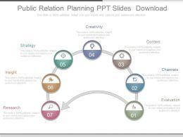 public relation planning ppt slides download