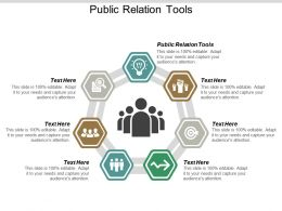 Public Relation Tools Ppt Powerpoint Presentation Portfolio Objects Cpb
