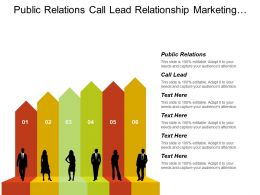 Public Relations Call Lead Relationship Marketing Customer Engagement