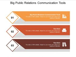 Public Relations Communication Tools Ppt Powerpoint Presentation Slides Rules Cpb