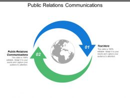 Public Relations Communications Ppt Powerpoint Presentation Model Format Ideas Cpb