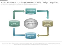 Public Relations Consulting Powerpoint Slide Design Templates