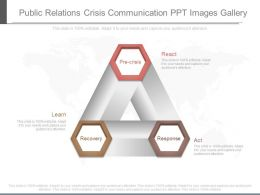 Public Relations Crisis Communication Ppt Images Gallery