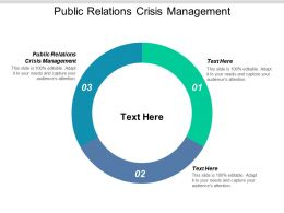 Public Relations Crisis Management Ppt Powerpoint Presentation Icon Slideshow Cpb