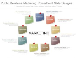 Public Relations Marketing Powerpoint Slide Designs