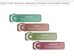 Public Relations Marketing Template Presentation Design