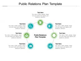 Public Relations Plan Template Ppt Powerpoint Presentation Outline Cpb