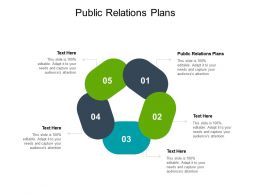 Public Relations Plans Ppt Powerpoint Presentation Layouts Background Image Cpb