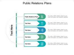 Public Relations Plans Ppt Powerpoint Presentation Slides Files Cpb