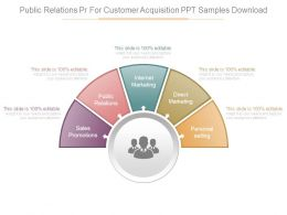 Public Relations Pr For Customer Acquisition Ppt Samples Download