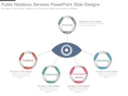 Public Relations Services Powerpoint Slide Designs