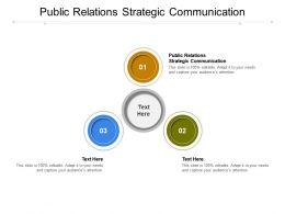 Public Relations Strategic Communication Ppt Powerpoint Presentation Inspiration Guidelines Cpb