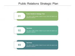 Public Relations Strategic Plan Ppt Powerpoint Presentation Gallery Samples Cpb