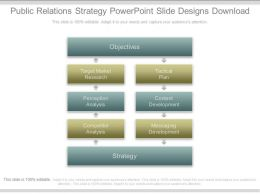 Public Relations Strategy Powerpoint Slide Designs Download